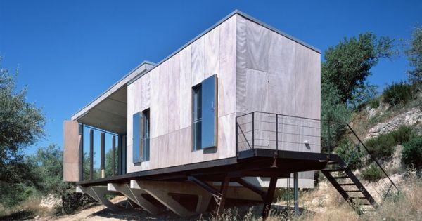Charpente m tallique et bardage bois pour cette maison for Bardage metallique pour maison