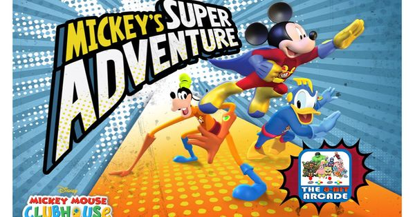 Mickey S Super Adventure Become Super To Stop Mega Mort And Pete Disney Junior Games Youtube Disney Junior Games Super Adventure Mickey Mouse Games