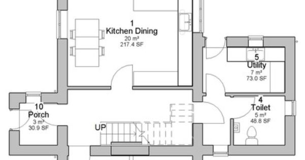 Caragh traditional irish cottage house plans ground floor for Columbia flooring melbourne ar