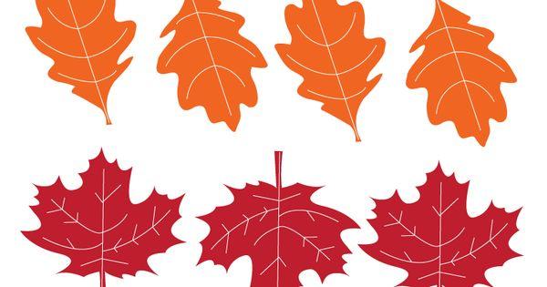 fall leaves printables from kiki comin blog  we made