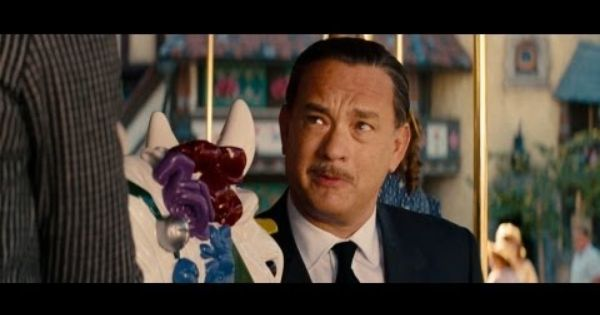 Saving Mr Banks Trailer 1 With Tom Hanks As Walt Disney At Disneyland Tom Hanks Tom Hanks Movies Disney Life