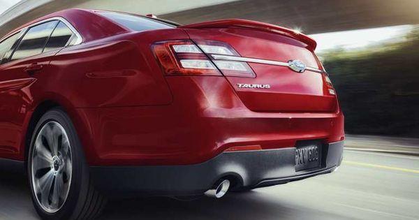 Taurus Sho Features A Rear Spoiler Lincoln Cars Taurus Ford