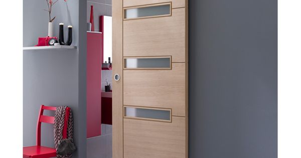 Syst me coulissant manhattan en applique pour porte en for Porte zilten cotim 11