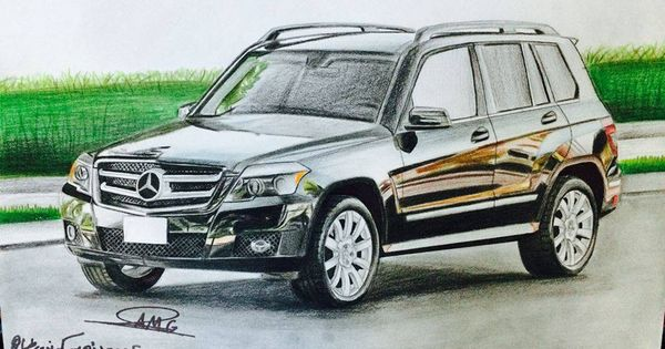 رسم مرسيدس Suv Suv Car Vehicles