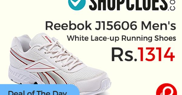 Running shoes, White lace, Lace
