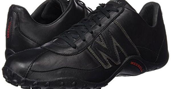 Merrell Sprint Blast, Men's Lace Up Trainer Shoes Black