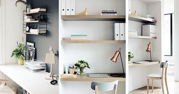 Claves para decorar tu zona de estudio ideas para - Estudio de decoracion de interiores ...