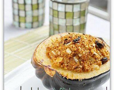 Bulgar Stuffed Acorn Squash | Food | Pinterest | Stuffed Acorn Squash ...