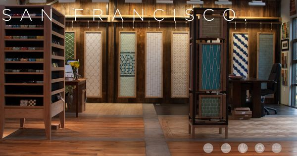 Fireclay san francisco showroom fireclay tile is the leading ceramic tile company using Bathroom showrooms san francisco