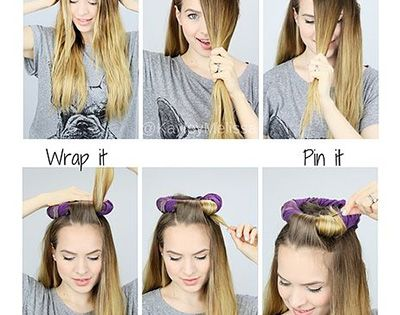 how to get curly hair no heat overnight