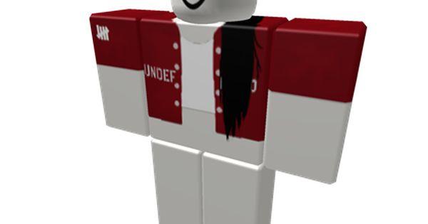 Dark Red Undftd Bomber White Halter Black Ext Roblox Dark Red Roblox Shirt Roblox