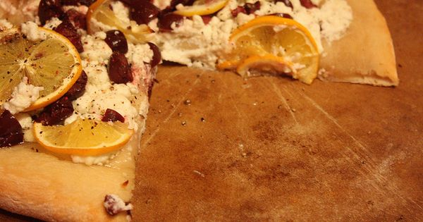 Goat cheese pizza, Goat cheese and Goats on Pinterest