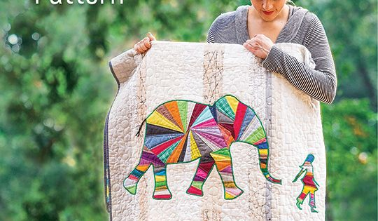 Elephant And I Quilt And Pillow Pattern Elephant Nature