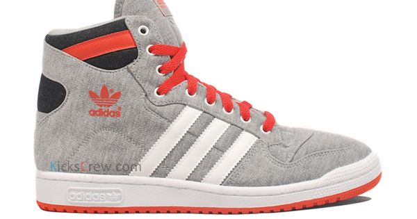 Adidas Decade wolf grey & orange - LOVE!