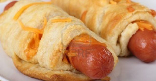 Hot Dogs Wrapped In Crescent Rolls Camping