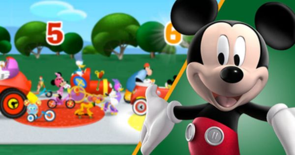 MICKEY Mouse Clubhouse Rally Raceway