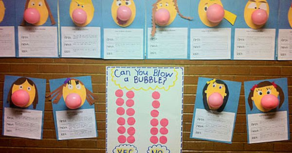 second grade classroom ideas | First I gave my students some bubble