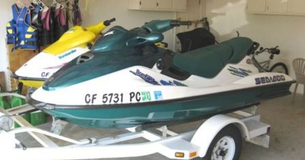 1997 Seadoo 1 Gtx And 1 Spx Like New Condition Seadoo Baby Strollers Water Sports