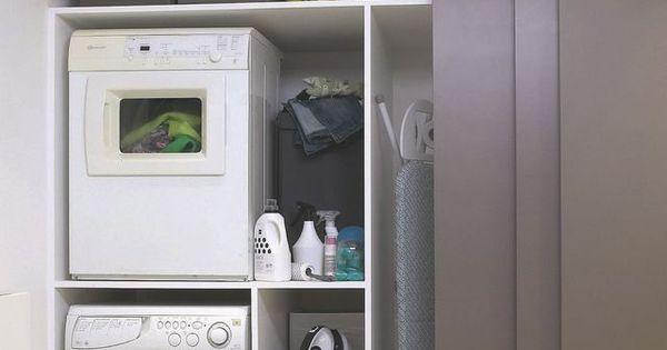 Installer lave linge dans la salle de bains buanderie - Lave linge dans salle de bain ...