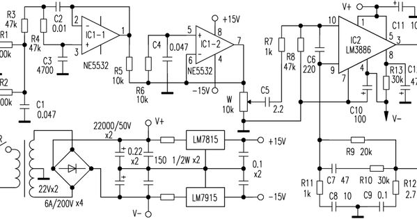 super bass amplifier schematic diagram