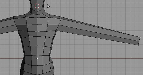Blender 3D Noob to Pro/Modeling a Human Character