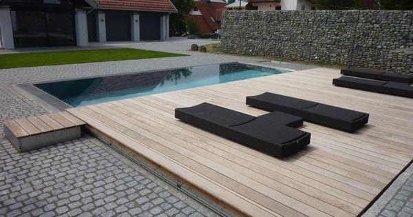 begehbare schwimmbadabdeckung landscape architecture. Black Bedroom Furniture Sets. Home Design Ideas