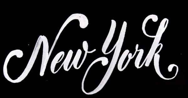 New York New York Pinterest Typography Typo And Fonts