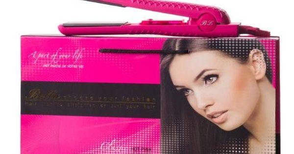 Bella Classic Hot Pink 100 Ceramic Hair Straightener Curler Click Image For More Details Ceramic Hair Straightener Hair Straightener Hot Pink