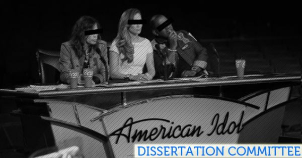 The American Idol Dissertation Committee On Film Editing