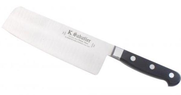 Couteau Cuisine Orientale 17 Cm Alveolee Gamme Authentique Sabatier K Couteau De Cuisine Couteau Cuisine
