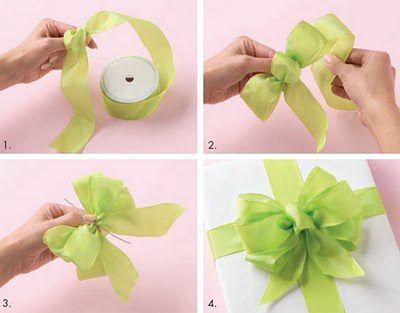 Noeud Pour Cadeau Ruban Cadeau Emballage Cadeau Papier
