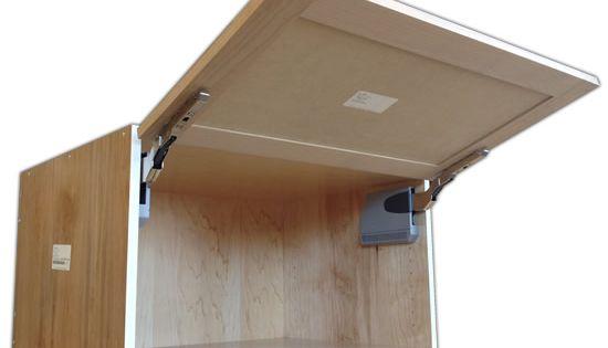 Aventos Hk Flip Up Door Wall Cabinet Bedroom Wall Cabinets Cabinet Door Hardware Diy Cabinet Doors
