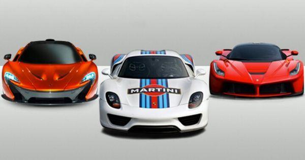Mclaren P1 Porsche 918 Ferrari Leferrari Ferrari Laferrari Porsche 918 Porsche