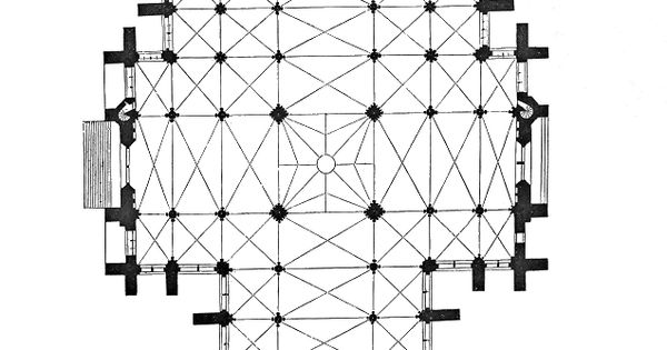 amiens cathedral plan