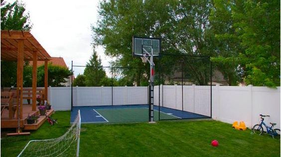 Nancy Drew Lights Camera Curses Game Basketball Court Backyard Backyard Court Backyard Basketball