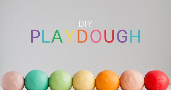 Jello playdough - Best homemade playdough recipe ever! Modern Parents Messy Kids