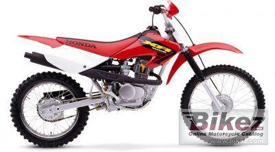 2003 Honda Xr 100 R Specifications And Pictures Honda Dirt Bike Honda Motorcycle