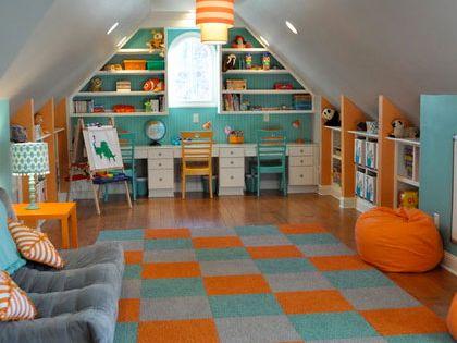 salle de jeux pour enfants sous les combles combles am nag s pinterest punch rangements. Black Bedroom Furniture Sets. Home Design Ideas