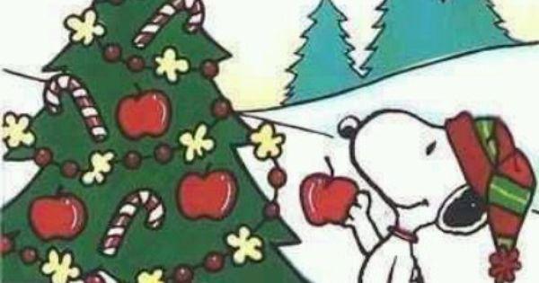 Snoopy/xmas Tree