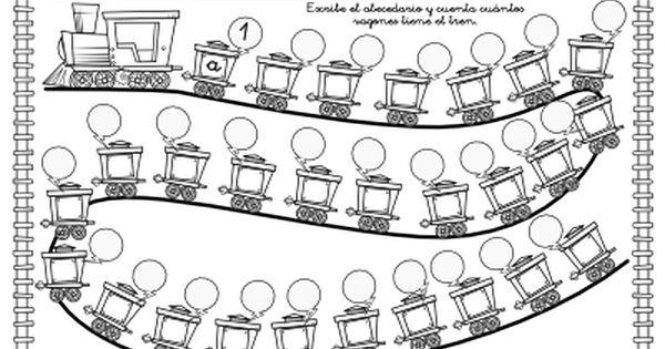 Abecedario Numerado Actividades Ludicas Educativas Secuencias Numericas Para Ninos Abecedario Secuencias Numericas