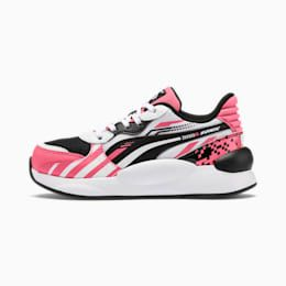 Puma X Sonic Rs 9 8 Kids Trainers In Bubblegum White Size 11 5 In 2020 Sneakers Sneakers Nike Nike