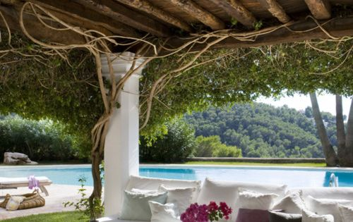 "Repinned ""Dreamy casa can mares. ibiza, spain."" I want this in my"