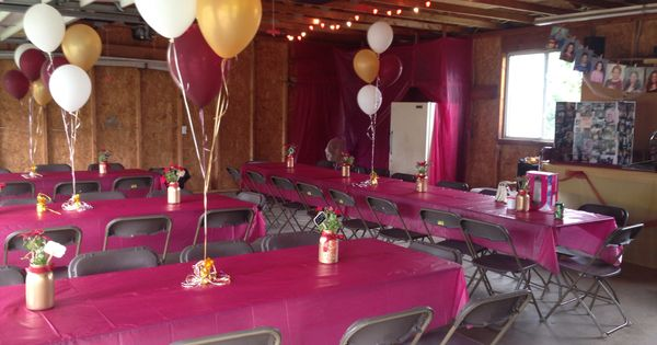 I did my best to transform our garage for jen's grad party! | Home | Pinterest | Grad parties ...