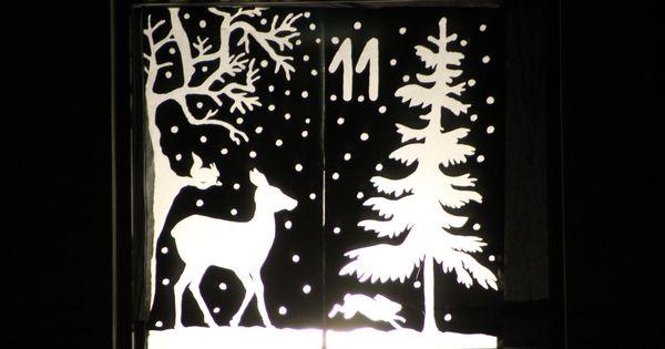 Adventsfenster google suche adventsfenster pinterest - Adventsfenster gestalten ideen ...