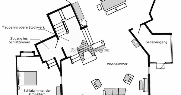die waltons grundriss erdgeschoss schwedenh user amerikanische h user pinterest. Black Bedroom Furniture Sets. Home Design Ideas