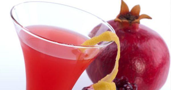 عصير الرمان والتوت Pomegranate Martini Martini Recipes Pomegranate