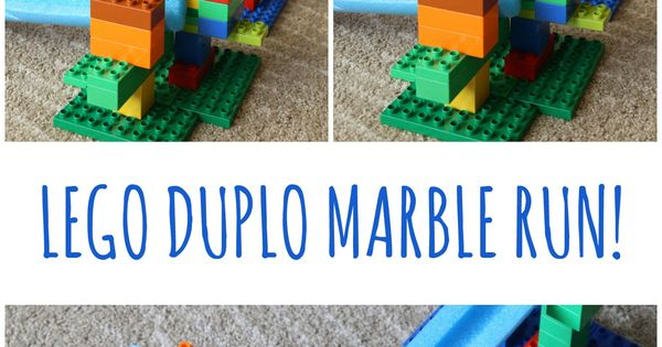 Stem Building Challenge For Kids Lego Duplo And Pool
