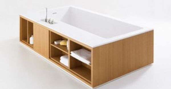 Free standing bathtub from Agape Cartesio   Bathtubs and Woods