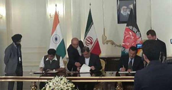 Iran India Afghanistan Sign Chabahar Agreement Invest In Iran Afghanistan Iran Agreement