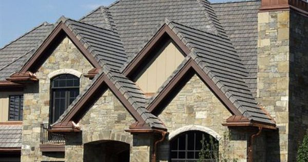 Interlocking Roof Tile Flat Slate Look New England Slate Bartile Premuim Roofing Tiles House Designs Exterior Flat Roof Tiles Roofing